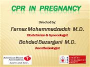 CPR in pregnancy