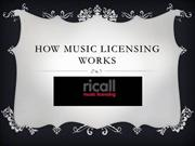 How Music Licensing Works