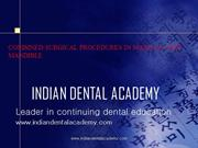 Combining surgical procedures in /fixed orthodontic courses by IDA