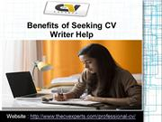 Benefits of Seeking CV Writer Help