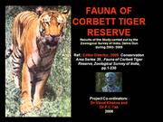 Fauna of Corbett Tiger Reserve
