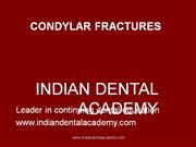Condylar Fractures- Raghu () /fixed orthodontic courses by IDA