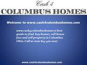we buy homes in Columbus Ohio