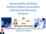 sleep disorders and treatment