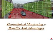 Geotechnical Monitoring – Benefits And Advantages