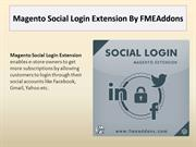 Magento Social Login Extension By FMEAddons