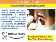 Cosmetic Dentist - Pediatric Dentist - Kids Dentist in Indianapolis