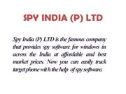 SPY INDIA (P) LTD (SPY software for Windows)