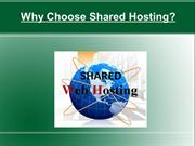 Why Choose Shared Hosting