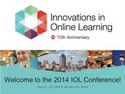 Innovations in Online Learning