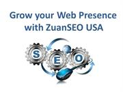 Grow your Web Presence with ZuanSEO USA