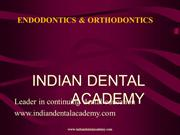 Endo Ortho seminar 1 /fixed orthodontic courses by IDA