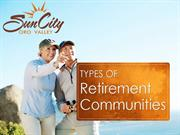 Retirement Communities in Tucson AZ and Surrounding Areas