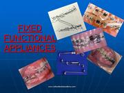 fixed functional /fixed orthodontic courses by IDA