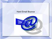 Hard Email Bounce