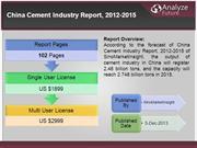 China Cement Industry Report, 2012-2015