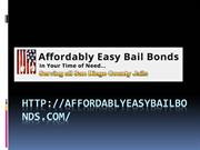 Affordably Easy Bail Bonds | Bail Bonds in san diego