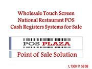 Wholesale Touch Screen National Restaurant POS Cash Registers Systems