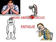MORE ABOUT MUSCLES