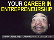 A Career in Entrepreneurship