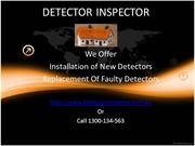 Best Smoke Alarm Detector & Testing Services From Detector Inspector
