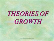 growth theories /fixed orthodontic courses by IDA