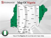 Nigeria Map Backgrounds PowerPoint Templates - Slideworld.com