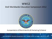 US DoD (Dept. of Defense) Worldwide Education Symposium and EXPO