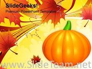 HAPPY HALLOWEEN PUMPKINS FESTIVAL POWERPOINT TEMPLATE