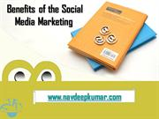 Benefits of  Social Media Marketing