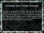 Increase Your Career Success