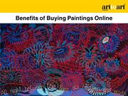 Benefits of Buying Paintings Online