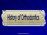History of Orthodontics /fixed orthodontic courses by IDA