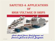Safeties & Applications of High Voltage in Ships