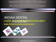 Implant microflora /fixed orthodontic courses by IDA