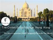 BOOKSIE | The Corliss Group Voyage Hong Kong: