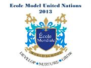 Ecole Mondiale - Ecole Model United Nations 2013