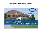 Jupiter Roof Cleaning Service