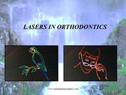LASERS IN ORTHODONTICS[1] /orthodontic courses by IDA