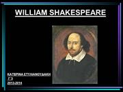 WILLIAM SHAKESPEARE 2014