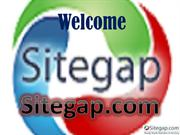 Build or Buy Your Own Website through Sitegap.com