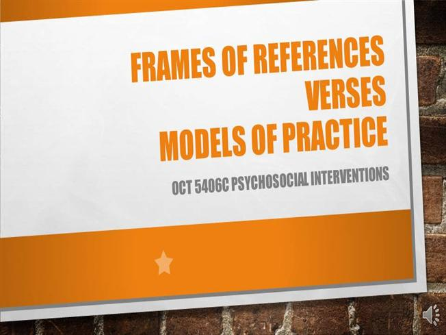 Voice Over Powerpoint- Frames of References |authorSTREAM