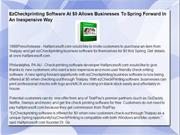 EzCheckprinting Software At $0 Allows Businesses