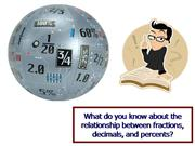 Fractions, Decimals, and Percentages