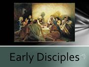 Early Disciples