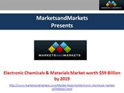 Electronic Chemicals & Materials Market 2019