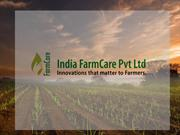 India FarmCare : Agrochemicals Technology In India,Herbicides