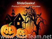 HAPPY HALLOWEEN FESTIVAL POWERPOINT BACKGROUND