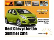 Best Chevys for the Summer of 2014