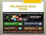 Get Free Minecraft Server Hosting With Minecraft Servers - 2014